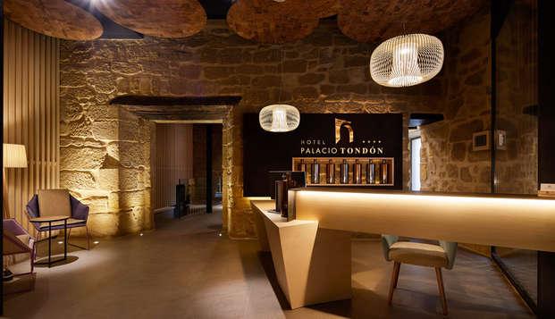 Amantes del vino: escapada con visita a bodega en un exclusivo palacio del S.XVI