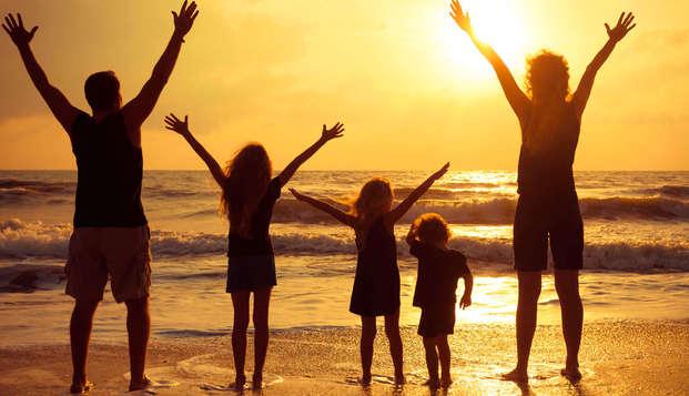 Venez avec toute la famille à la côte belge