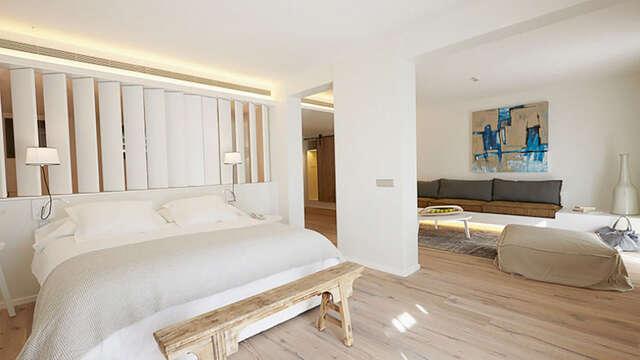 Romanticismo y relax en el Alt Empordà en habitación Suite