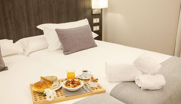 Confort y tranquilidad en hotel bien situado en Asturias