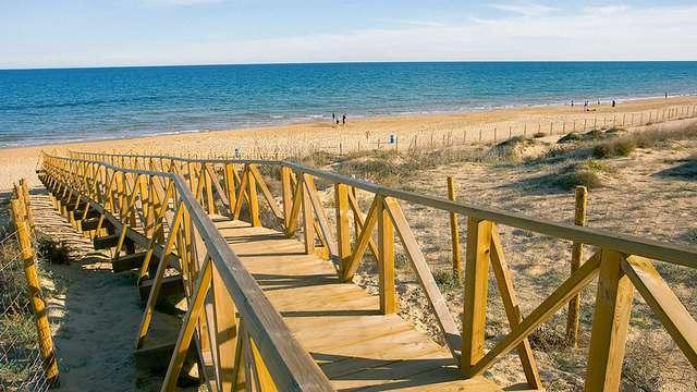 Évasion à la plage dans Guardamar del Segura