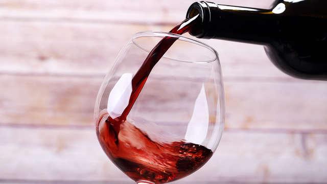 1 Copa de vino para 2 adultos