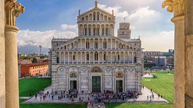 Recorre las calles históricas de Pisa