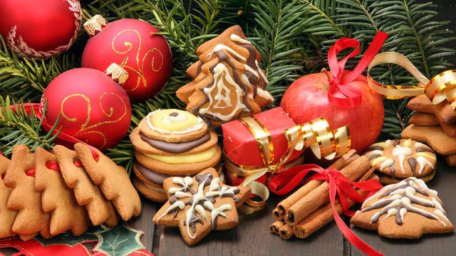 Cadeau gourmand spécial Noel