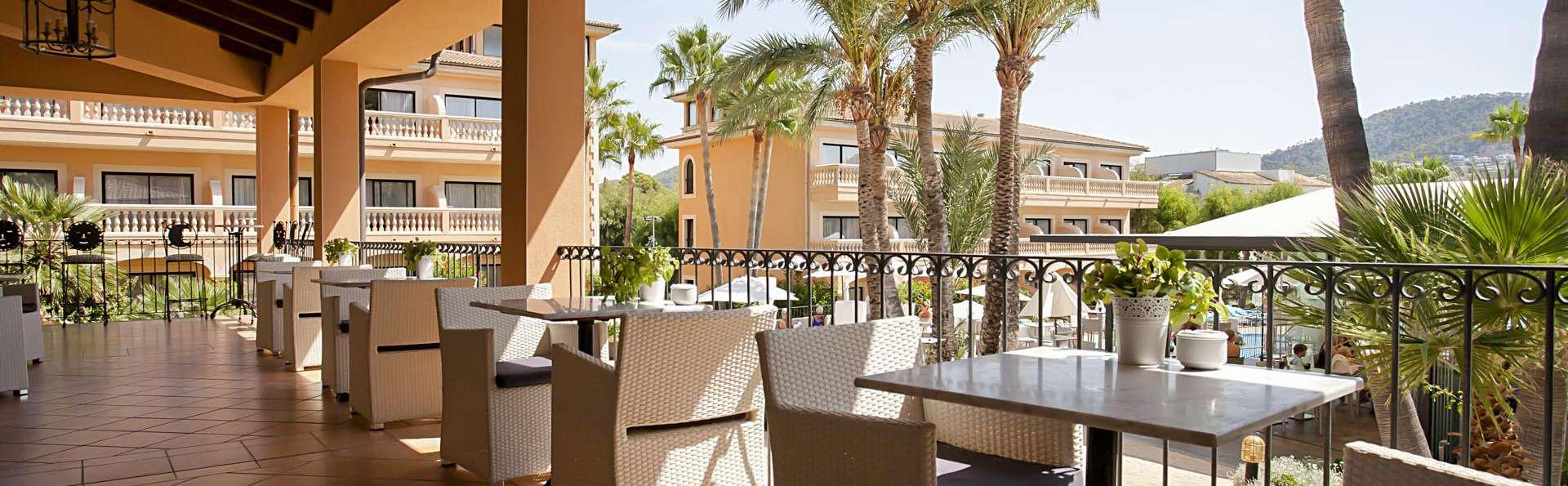 Sol, Playa, Relax y Media Pensión en un lujoso hotel 4* a dos minutos del Port d'Andratx