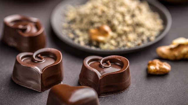 Saborea el chocolate belga y relájate en un spa de diseño oriental