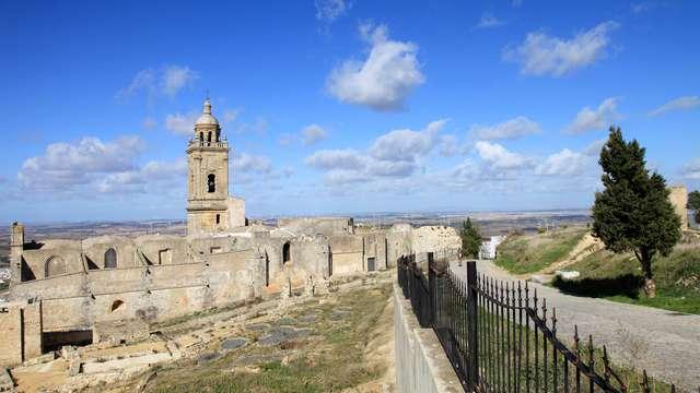 Oferta en Medina-Sidonia: Relax con acceso al circuito termal y benjamín de cava en un hotel 4*