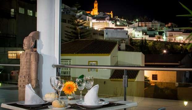 Escapada gourmet con cena de lujo y entrada al spa en Medina Sidonia