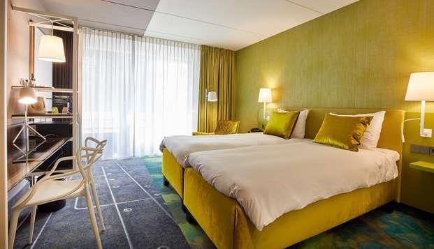Week-end à Utrecht en chambre de luxe avec accès au spa