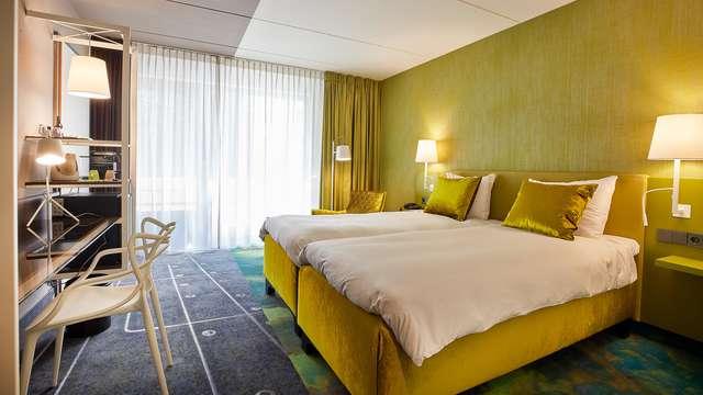 Weekendje Utrecht in deluxe kamer met toegang tot spa