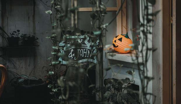 Fiesta de Halloween con Spa en Galicia