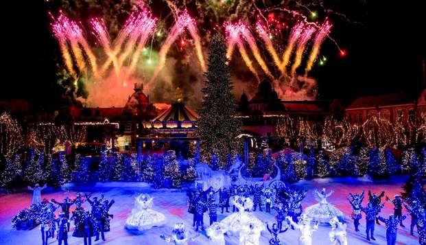 Visita el famoso parque de atracciones Phantasialand Winterland y alójate en Düren, ciudad cultural