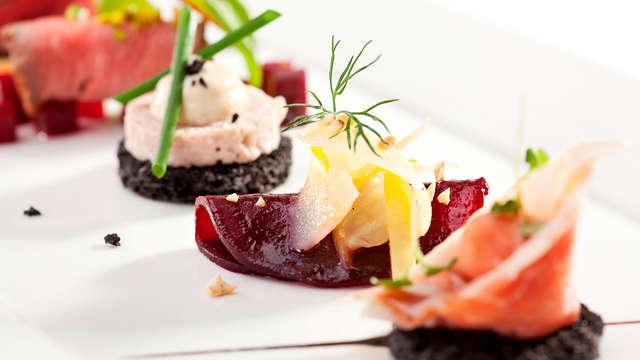 Spécial luxe 5* avec vue sur la mer, spa et dîner dégustation