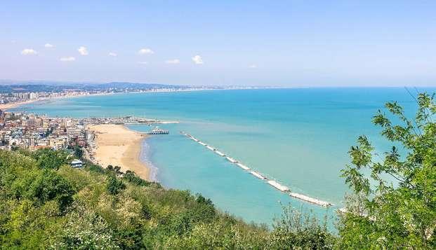 Paréntesis a orillas del mar en Riccione