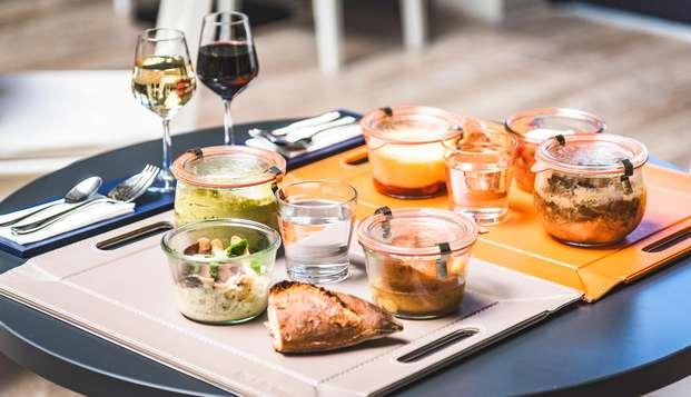 Week-end avec dîner et visite de cave au cœur de Saumur