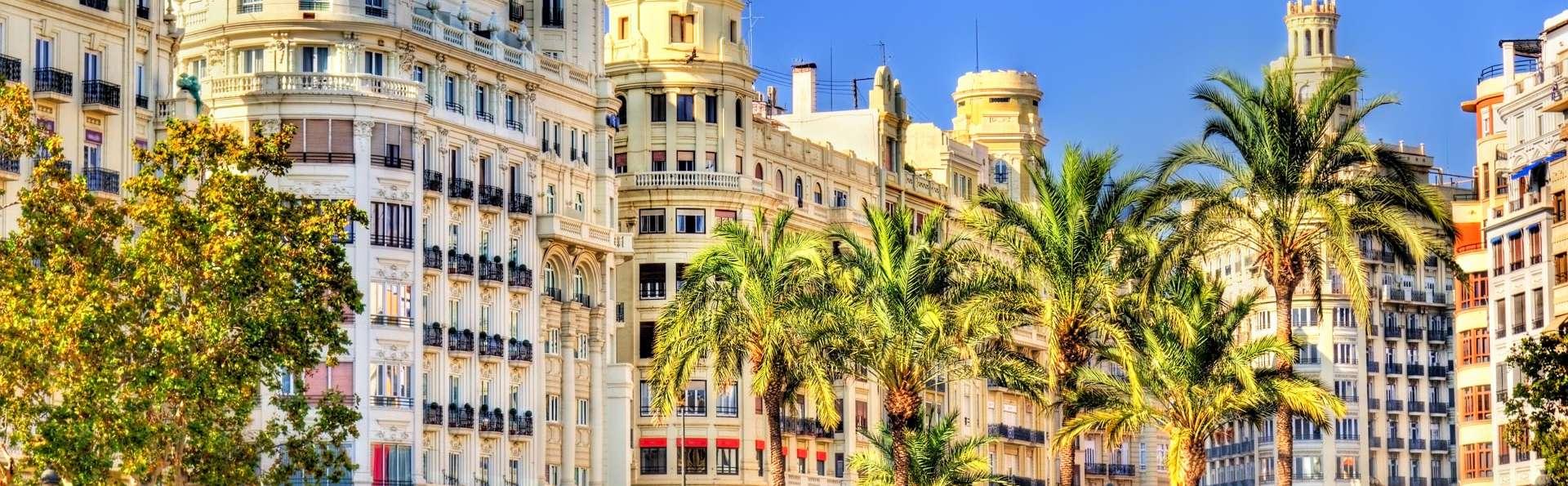 Modernité dans la vieille ville de Valence
