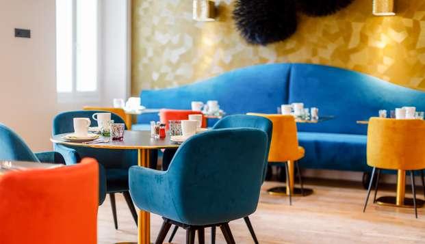 Alarga el verano con una estancia en un hotel de diseño en Cannes (desde 2 noches)