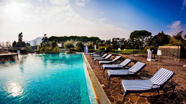 Relax y bienestar en Galzignano Terme con acceso al SPA y masajes
