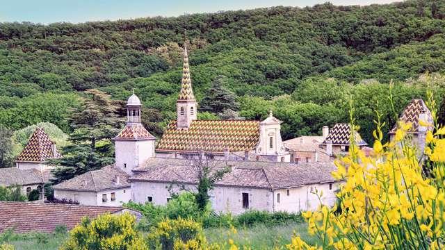 Évasion et charme dans le village provençal de Valbonne