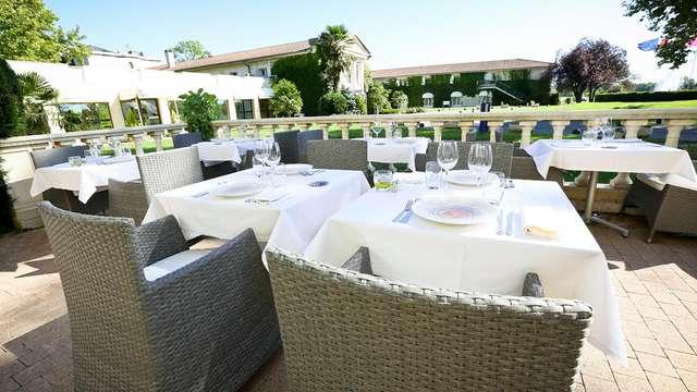 Séjour de luxe avec accès au spa et dîner à Margaux