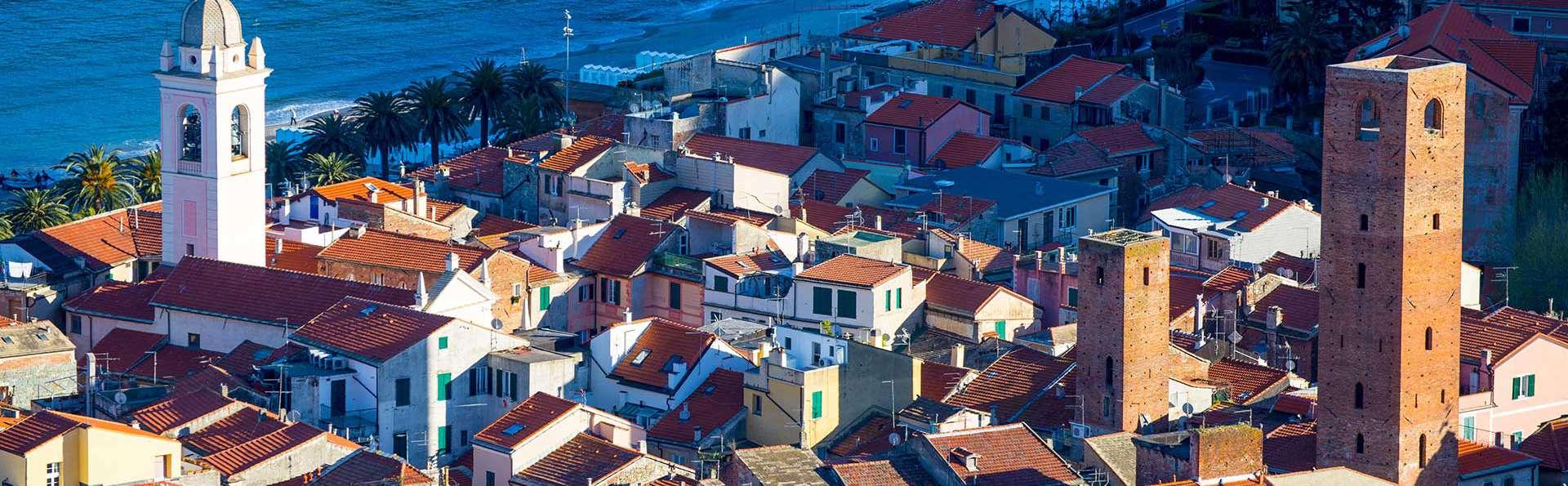 Pausa in riva al mare a Savona