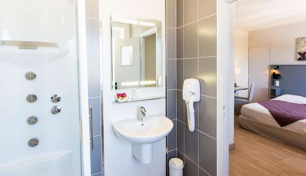 Hotel Beau Site - Luxeuil-les-Bains - NEW BATHROOM