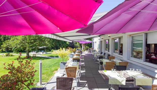Hotel Beau Site - Luxeuil-les-Bains - NEW TERRACE