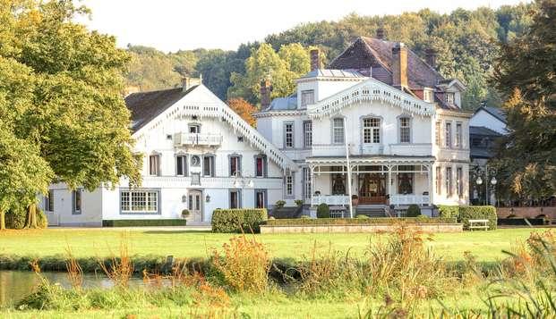 Vivez un agréable séjour dans un élégant château du XIVe siècle à Fourons