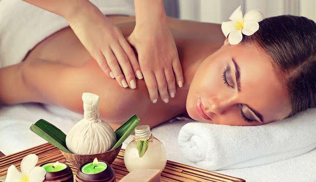 Ontspannend uitje met massages (vanaf 2 nachten)