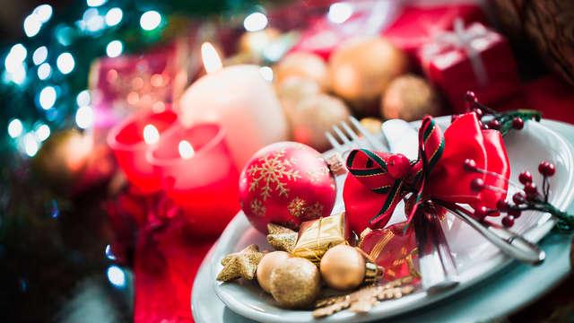 Dîner, soirée et brunch du Nouvel An au cœur des Vosges