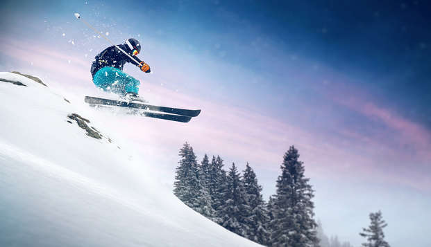 Profitez d'un séjour détente avec forfait de ski, au cœur des montagnes (à partir de 5 nuits)