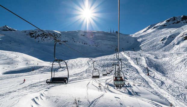 Dîner, spa & forfait de ski au cœur des montagnes !