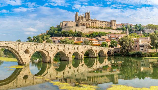 Profitez des superbes vues au parc depuis vôtre studio à Béziers