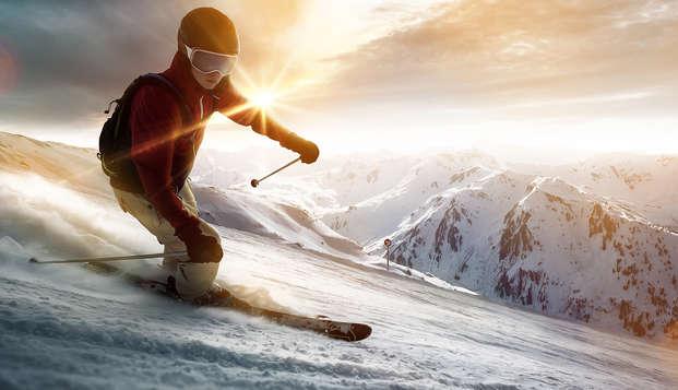 Ski et détente au pieds des pistes, à Isola 2000 (forfait 2 jours inclus)