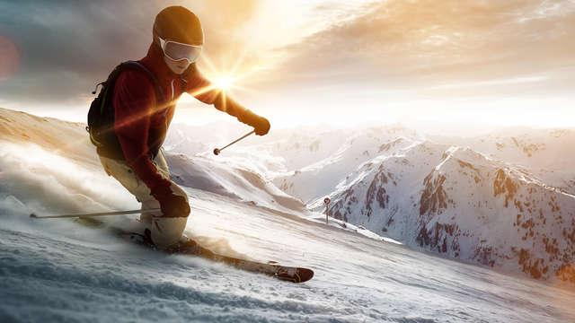 Esquí y relax a pie de pista en Isola 2000 (forfait para 2 días incluido)
