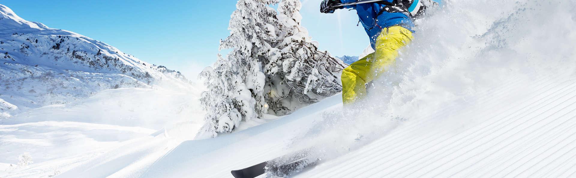 Ski et détente en plein coeur d'Isola 2000 (avec forfaits 2 jours)
