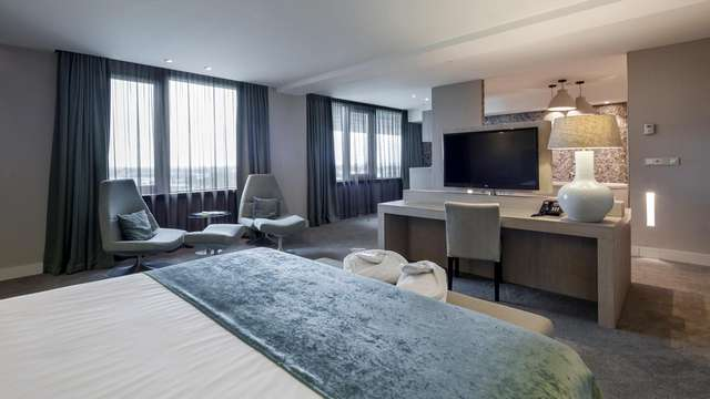 Pure luxe en wellness in een Skyline suite