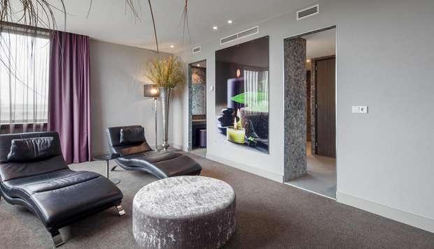 Luxe, comfort en een prive sauna in je eigen suite