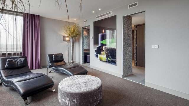 Luxe, confort et sauna privé dans votre propre suite
