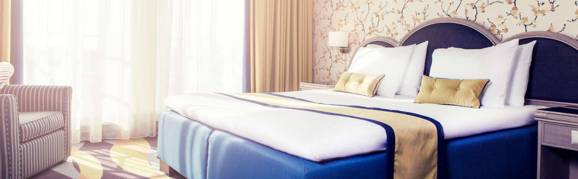 Une oasis de paix et de confort dans l'hôtel quatre étoiles Carlton Oasis