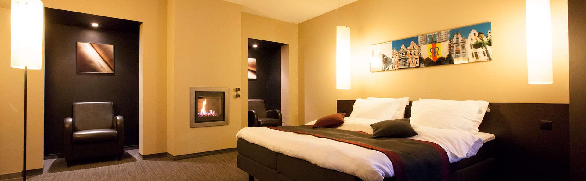 Heerlijk ontspannen in luxueus design hotel in hartje Mechelen
