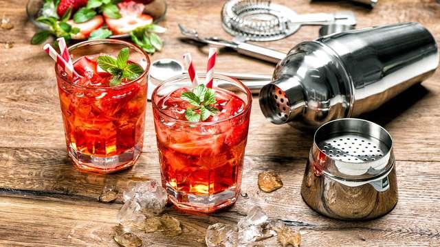 Cocktail de bienvenue pour 2 adultes