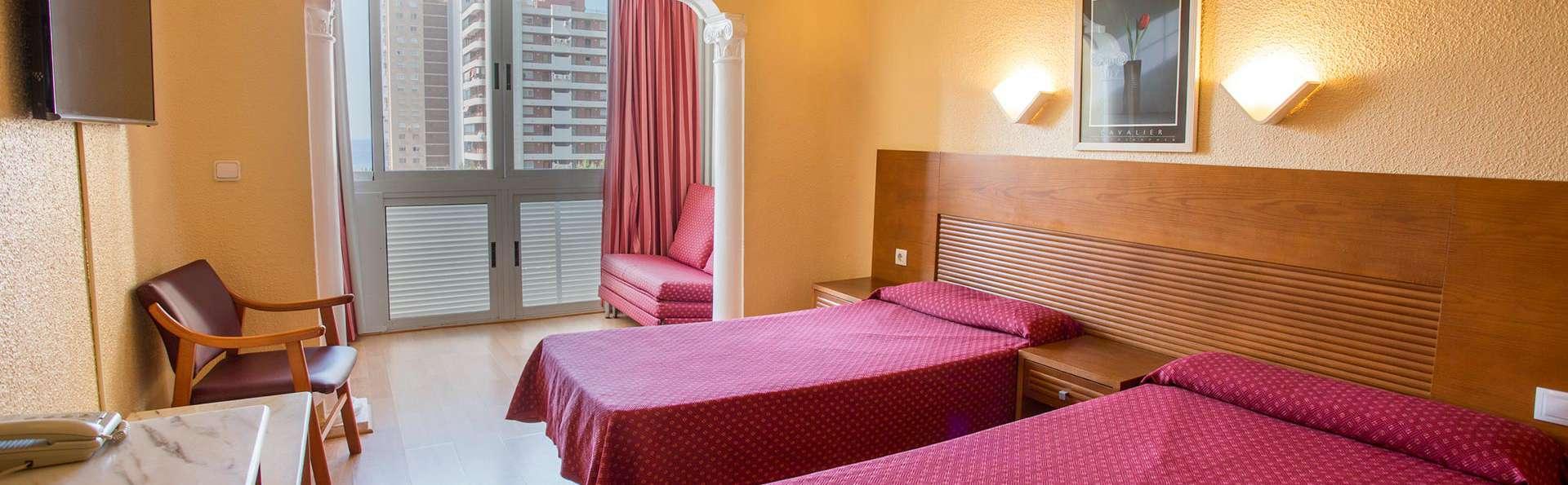 Mini-vacances dans un formidable hôtel à Benidorm en formule tout compris