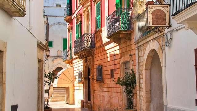 Visita el corazón de Puglia y disfruta del spa y de una degustación de productos locales