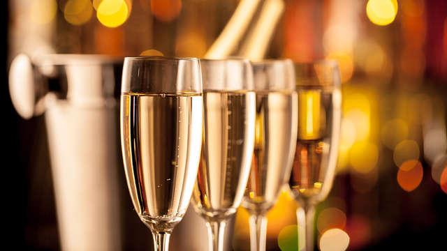 Año nuevo con burbujas en el corazón de Marsella