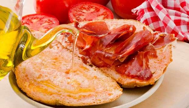 Escapada gastronómica: Disfruta de una cena catalana típica en un hotel con encanto