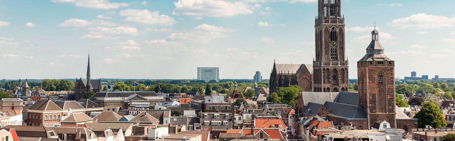 Célébrez le week-end à Utrecht! (à partir de 2 nuits)