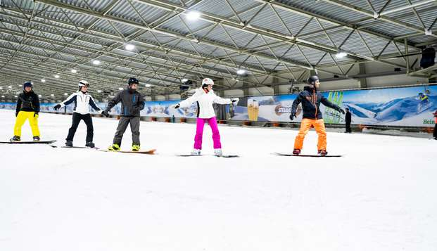 4 uur skiën in een van de grootste parken in Europa!