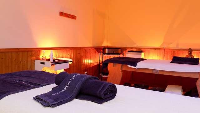 Ontspannend uitje met een welkomstdrankje in een hotel met spa en uitzicht op Serra da Estrela