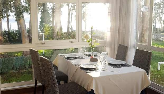 Escapada con cena en un hotel en la playa de Santa Cristina